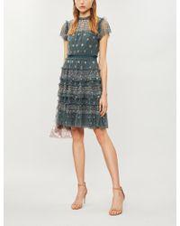 Needle & Thread - Andromeda Tiered Tulle Dress - Lyst