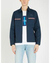 Ck Jeans - Logo-print Cotton-jersey T-shirt - Lyst
