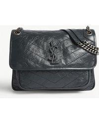 9855af1528dc Saint Laurent - Niki Shoulder Bag - Lyst. Saint Laurent - Niki Medium  Leather ...
