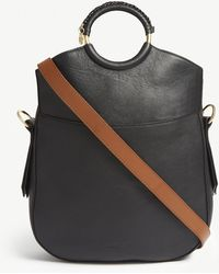 See By Chloé - O-ring Leather Cross-body Bag - Lyst