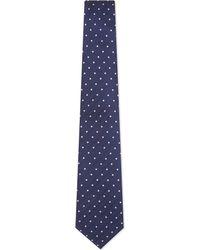 Turnbull & Asser - Contrast Spot Silk Tie - Lyst