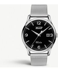 Tissot - T118.410.11.057.00 Heritage Visodate Stainless Steel Watch - Lyst