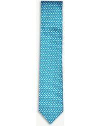 Thomas Pink - Elephant Family Print Silk Tie - Lyst