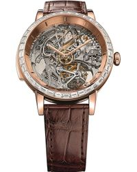 Corum - Bubble Minute Repeater 18ct Rose-gold And Leather Watch - Lyst