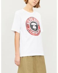 Aape - Now Cotton-jersey T-shirt - Lyst bbbb4f786