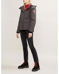 Canada Goose - Blakely Feather And Shell-down Parka Coat - Lyst