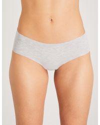 Commando - Stretch-cotton Bikini Briefs - Lyst