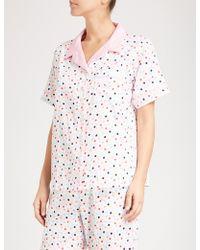 Peter Alexander - Confetti Cotton Pyjama Top - Lyst