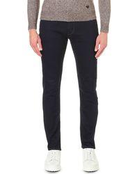 Armani Jeans - Comfort Slim-fit Straight Jeans - Lyst