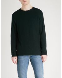 HUGO - Bouclé Knitted Jumper - Lyst