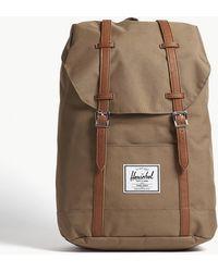 Herschel Supply Co. - . Brown Woven Retreat Backpack - Lyst