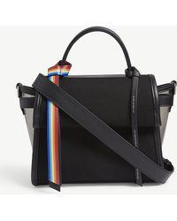 Elena Ghisellini - Angel Small Transparent Panel Shoulder Bag - Lyst