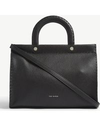 ffcaefe056b Ted Baker - Monicaa Grained Leather Tote Bag - Lyst