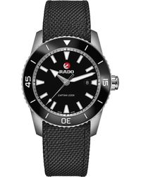 Rado - R32501156 Captain Cook Ceramic And Carbon Infused Steel Watch - Lyst