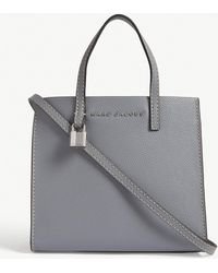 Marc Jacobs - Slate Grey Mini Grind Tote Bag - Lyst