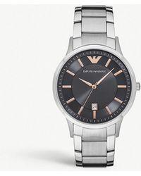 Emporio Armani - Renato Stainless Steel Watch - Lyst