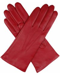 Dents - Cashmere-lined Leather Gloves - Lyst