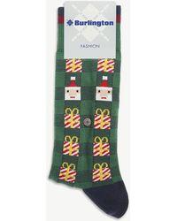 Burlington - Christmas Cotton-blend Socks - Lyst