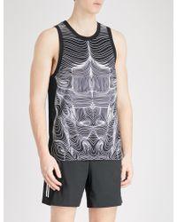 Neil Barrett - Muscle Line-print Cotton-jersey Top - Lyst