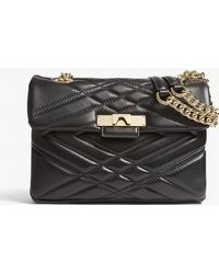 Kurt Geiger - Ladies Black Mayfair Leather Shoulder Bag - Lyst