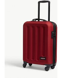 Eastpak - Red Stripe Tranzshell Small Four Wheel Cabin Suitcase - Lyst