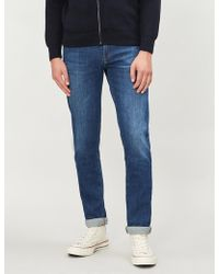 J Brand - Tyler Slim-fit Faded Tapered Jeans - Lyst