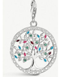 Thomas Sabo - Tree Of Life Sterling Silver Charm - Lyst