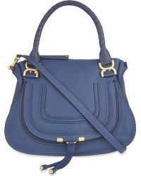 Chloé - Marcie Medium Leather Tote - Lyst