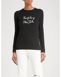 Bella Freud - Fairytale Of New York Merino Wool Jumper - Lyst