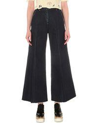 Miharayasuhiro - Wide-leg High-rise Jeans - Lyst