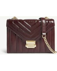 MICHAEL Michael Kors - Whitney Quilted Leather Shoulder Bag - Lyst