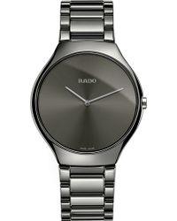 Rado - R27955122 True Thinline Ceramic Watch - Lyst