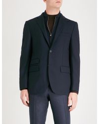 Corneliani - Detachable Panel Regular-fit Stretch-wool Jacket - Lyst
