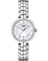 Tissot - T094.210.11.111.00 Flamingo Stainless Steel Watch - Lyst