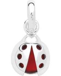 Links of London - Lucky Ladybird Sterling Silver Charm - Lyst