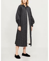 Renli Su - Padded Cotton-blend Coat - Lyst