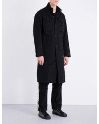 Maharishi - Stand-collar Denim Coat - Lyst