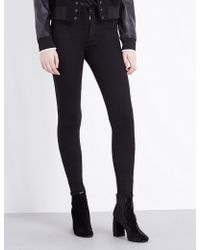Hudson Jeans - Barbara Skinny High-rise Jeans - Lyst
