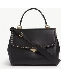 MICHAEL Michael Kors - Michael Kors Ladies Black Modern Ava Scalloped Leather Shoulder Bag - Lyst