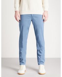 7 For All Mankind - Extra-slim Stretch-cotton Chinos - Lyst