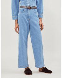 Nanushka - Marfa Wide High-rise Jeans - Lyst