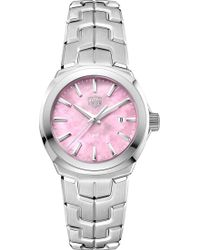 Tag Heuer - Wbc1317.ba0600 Link Stainless Steel Watch - Lyst
