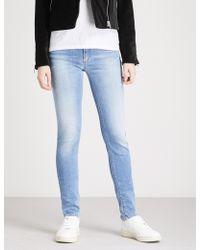 Armani Jeans - J28 Skinny Mid-rise Jeans - Lyst