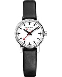 Mondaine - Mse-26110-lb Evo2 Petite Leather And Stainless Steel Watch - Lyst