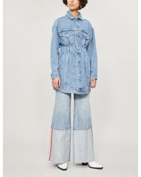 Levi's - Faded Denim Dress - Lyst