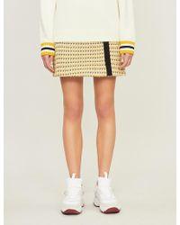 Maje - High-waist Tweed Skirt - Lyst