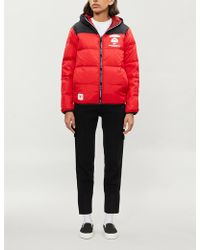 Aape - Reversible Branded-trim Shell-down Jacket - Lyst 4ce5185fc