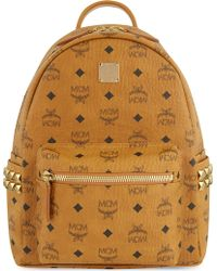 MCM - Stark Classic Small Backpack - Lyst