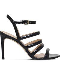 MICHAEL Michael Kors - Nantucket Patent Leather Sandals - Lyst
