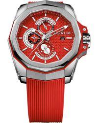 Corum   27710104f376ar12 Admiral's Cup Ac-one 45 Tides Titanium Watch   Lyst